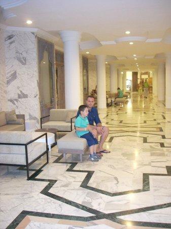 El Mouradi Palm Marina: lobby area