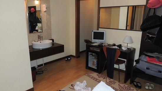 Hotel Guidi: Vista do quarto