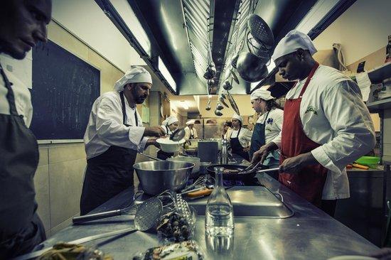 Ganzo: I nostri studenti in cucina