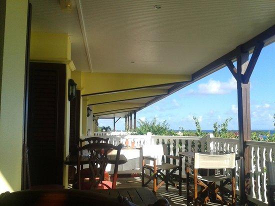 Auberge de la Vieille Tour : Terrasse