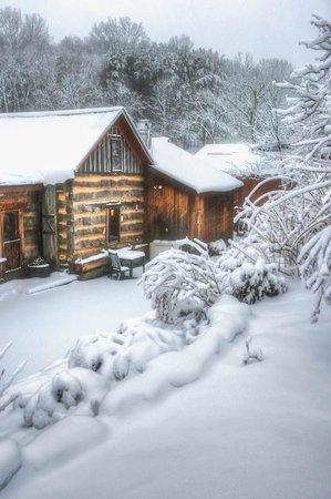 The Inn & Spa at Cedar Falls: Winter at The Inn at Cedar Falls