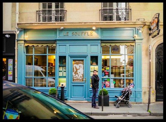 The restaurant picture of le souffle paris tripadvisor for Le miroir resto paris