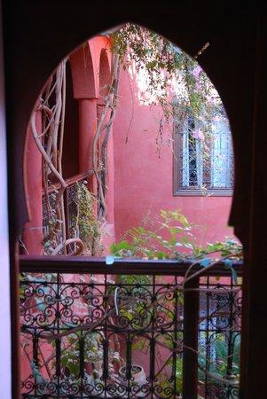 Riad Honey Sarl: Sicht aus der Zimmertür