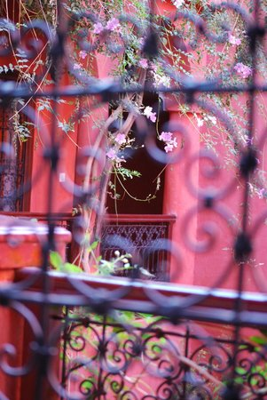Riad Honey Sarl: Blick über den Innenhof