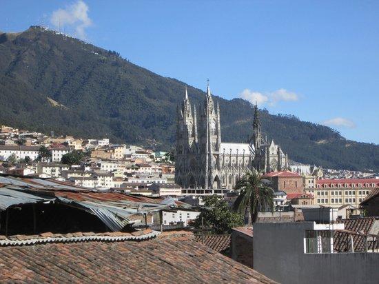 La Casa Tolena Hostal: Catedral desde terraza