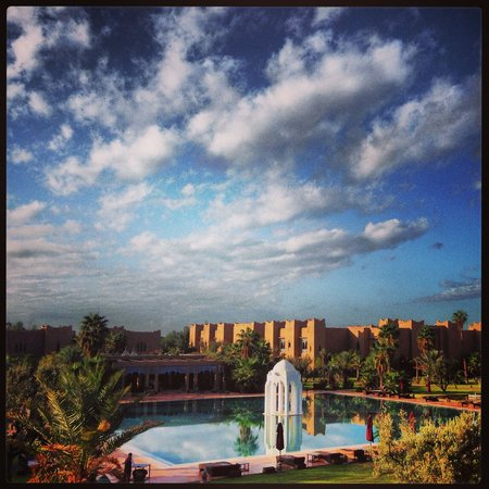 Sahara Palace Marrakech: View from our room...