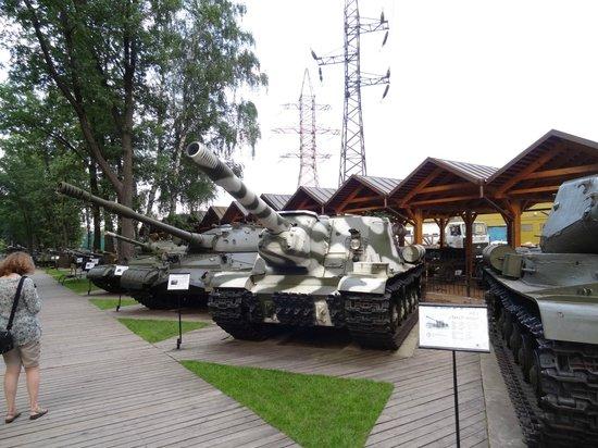 Arkhangelskoye, Russia: Выставка техники под открытым небом