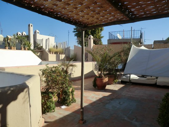 Riad O2: Roof top terrace