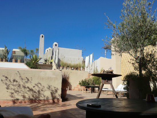 Riad O2: Roof top terrace