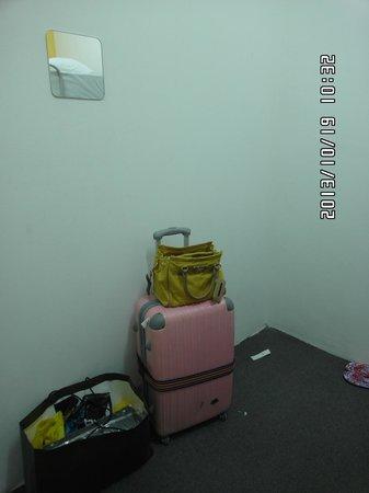 The Mitraa: bedroom