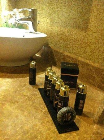 Granada Luxury Resort & Spa: средства гигиены обновлялись ежедневно!