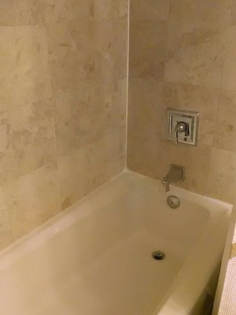 West Palm Beach Marriott: The bathroom
