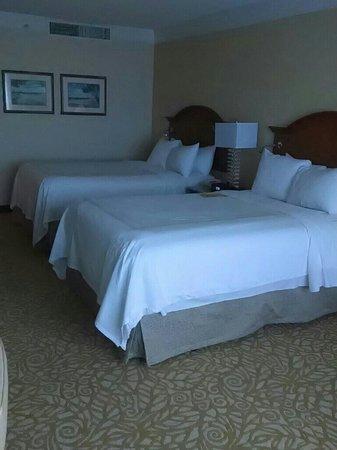 West Palm Beach Marriott : Bedroom