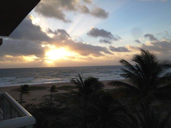 Fort Lauderdale Marriott Pompano Beach Resort & Spa : Sunrise