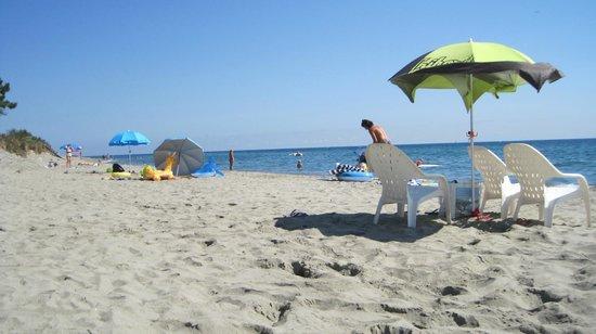 Domaine de l'Avidanella : La spiaggia a due passi dal residence