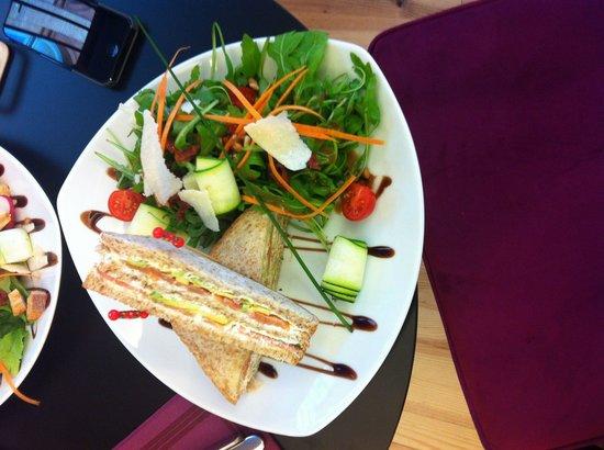 Perlette : Sandwich club