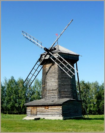 Museum Of Wooden Architecture & Peasant Life: Мельница