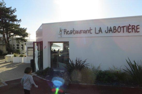 La Jabotière : l' entrée du restaurant