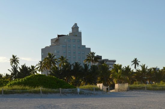 The Tides South Beach: Hôtel vu de la plage privée