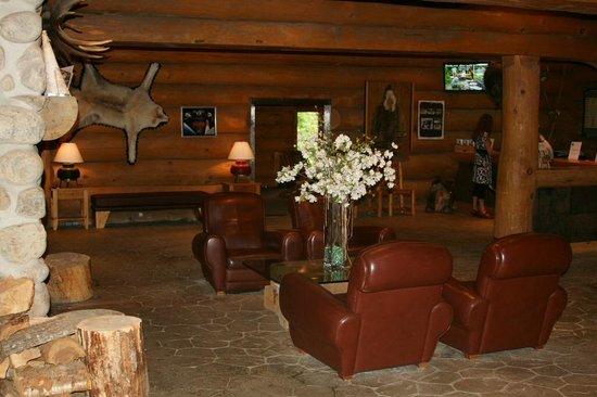 Hotel Sacacomie: Lobby
