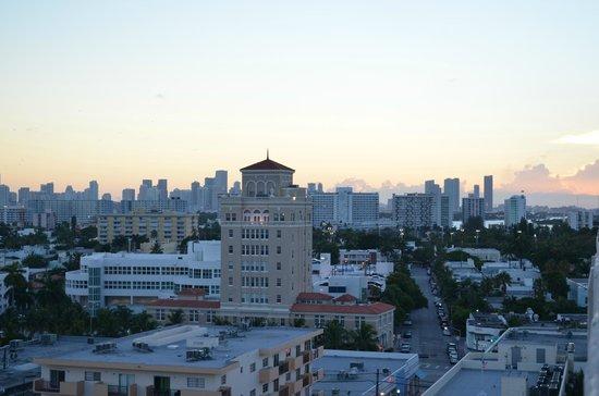 The Tides South Beach: Vue de la terrasse privée