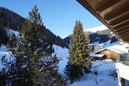 Hotel Garni Forelle : Вид с балкона