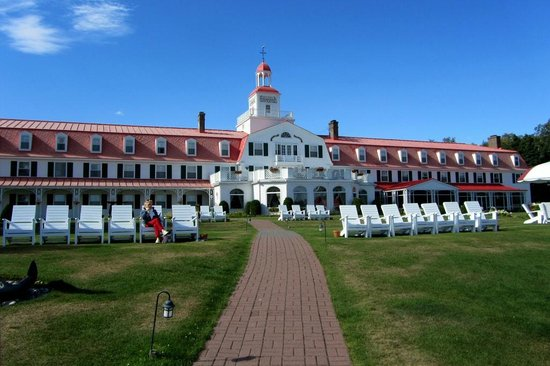 Hotel Tadoussac: Außenansicht