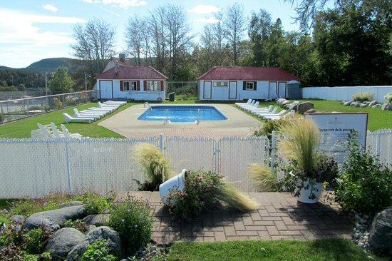 Hotel Tadoussac: Swimmingpool