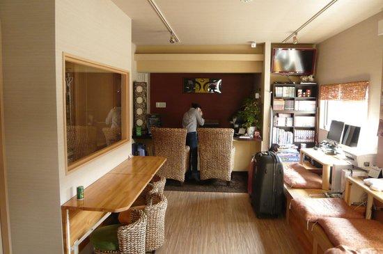 Guest House Nara Komachi: lobby