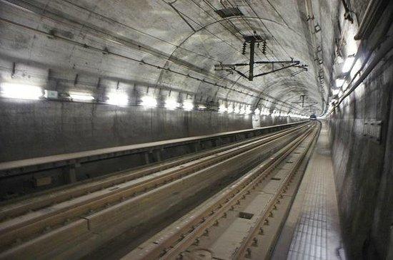 Seikan Tunnel Museum : 竜飛海底駅ホーム