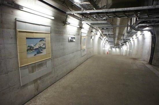 Seikan Tunnel Museum : 坑道
