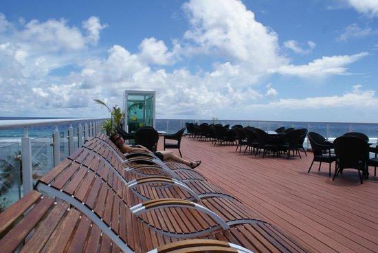 Fern Boquete Inn: Bilde fra tak terrassen på hotellet.