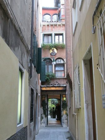 Hotel Flora, a hidden gem in Venice.