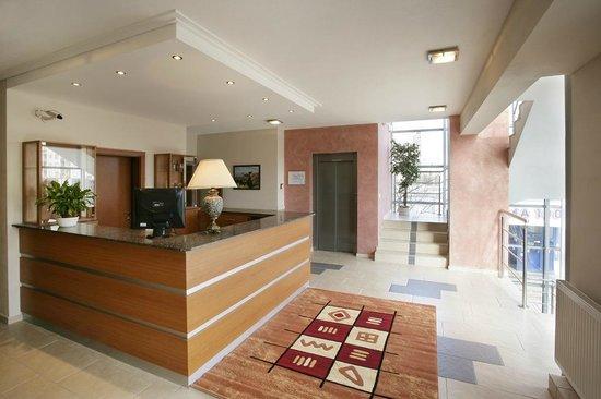 Hotel Dominika: Reception