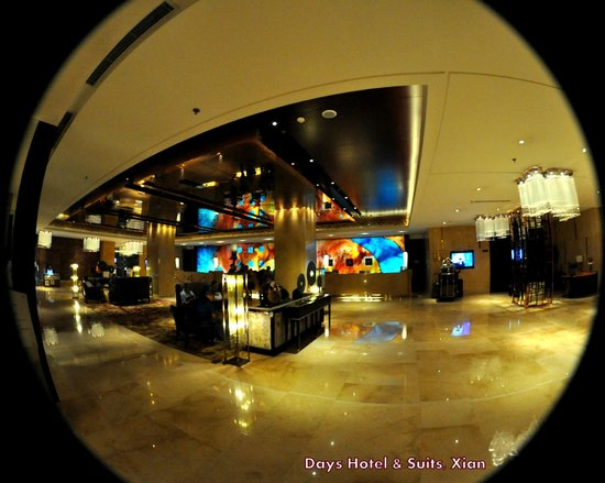 Days Hotel & Suites Xinxing Xi'an : Main Reception