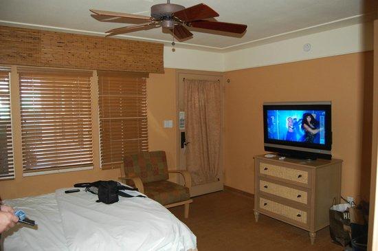 Diamond Head Inn: vue de la chambre