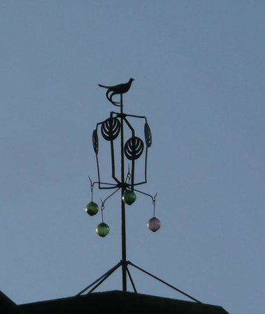 The Glasgow School of Art: A bird on high