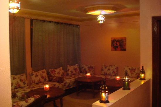 Dar Achain Guesthouse: Dar Achain Salon