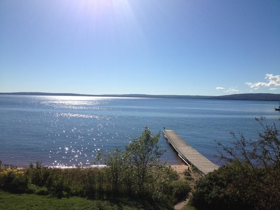 The Inn on Madeline Island: View from our balcony!