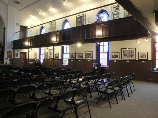 Banneker-Douglass Museum : The church portion of the museum.