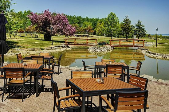 Hecla Island, Canada: Outdoor Patio