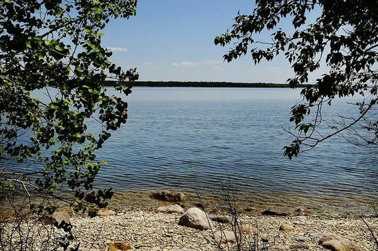 Lakeview Hecla Resort : Beach