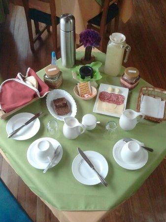 Ruca Suite : Rico desayuno.