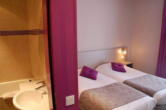 Hotel de la Fontaine: superior twin room