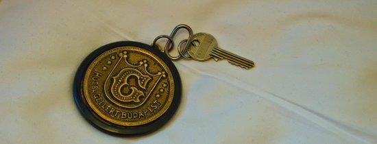 Danubius Hotel Gellert: Room Key
