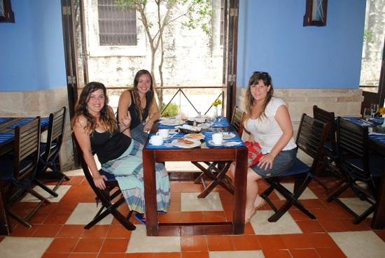 Los Frailes Boutique Hotel Havana : Buen desayuno