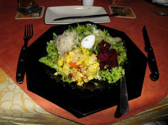 Le Papillon : Salad