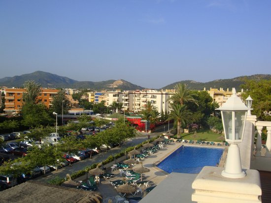 Hotel Bon Repos: View