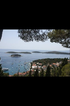 Providenca Charter and Travel: View from the highest point in Hvar