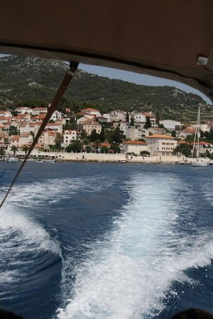 Providenca Charter and Travel: View from the boat
